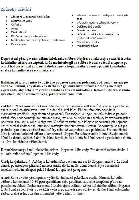 fc53ed702 Koloidné striebro | Biotta